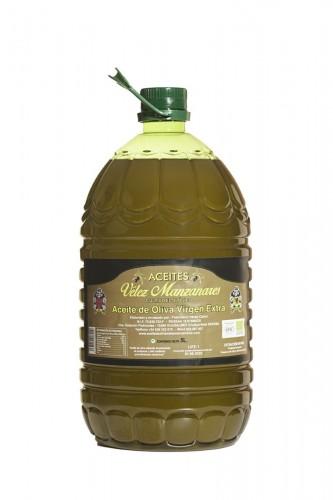 5 L Aceite de Oliva Virgen Extra Velez Manzanares  - Cultivo Ecológico