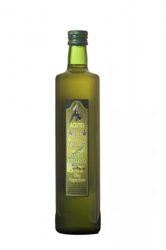 750 ml Aceite de Oliva Virgen Extra Vélez Manzanares Cristal Dórica  - Cultivo Ecológico